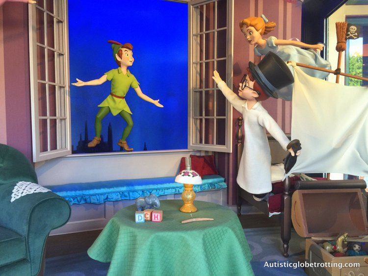 Disneyland's Top Indoor Autism Friendly Rides and Attractions peter pan