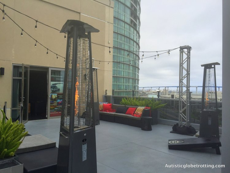 Luxury Stay at the Hard Rock Hotel San Diego view