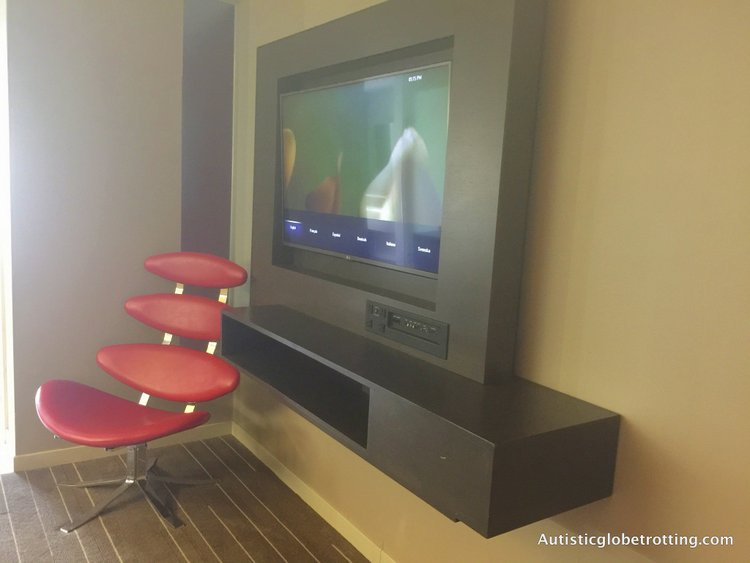 Luxury Stay at the Hard Rock Hotel San Diego chair