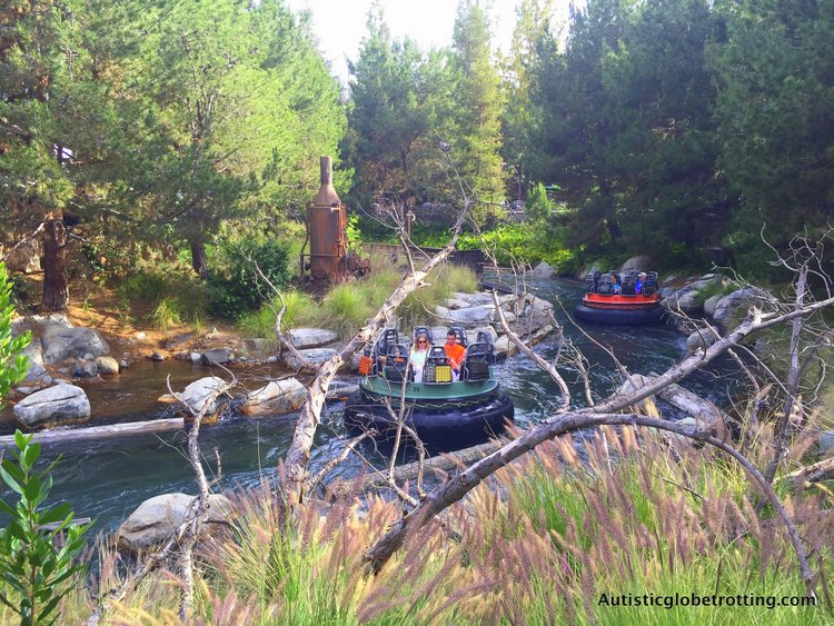 Eight Best Disneyland Thrill Rides for Kids with Autism grizzly river rafting ride