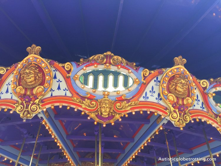 Best Disneyland Spinning Rides for Kids with Autism disneyland carousel