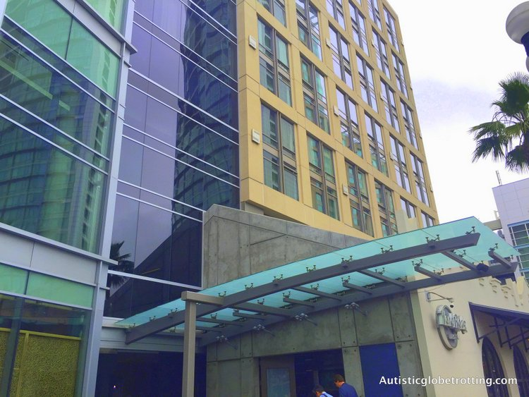 Luxury Stay at the Hard Rock Hotel San Diego building