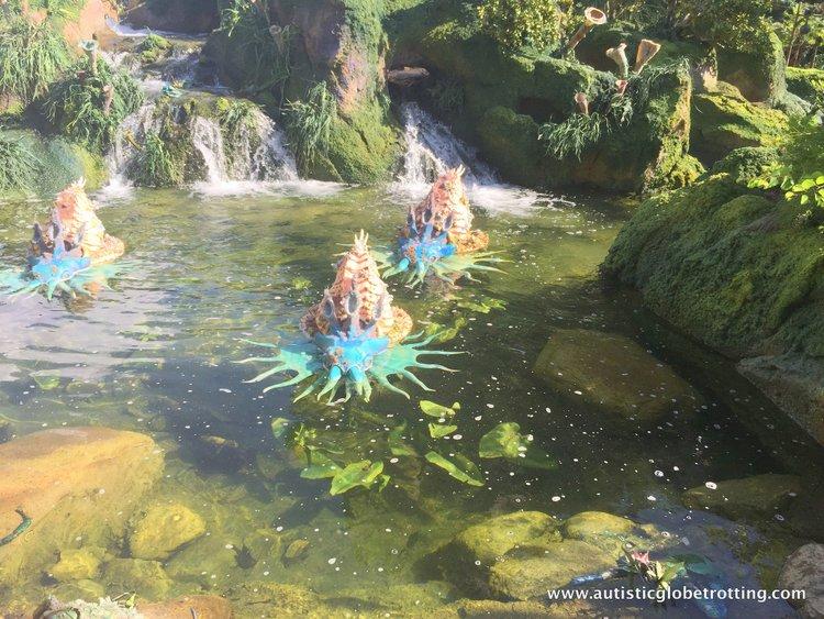 Pandora world of avatar water