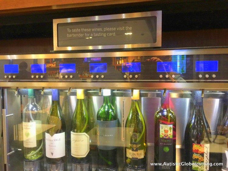 How we liked San Francisco International Airport Centurion Lounge wine