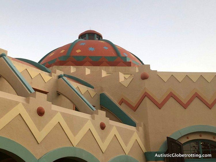 Disney Coronado Springs Resort Tips for Families mexican building