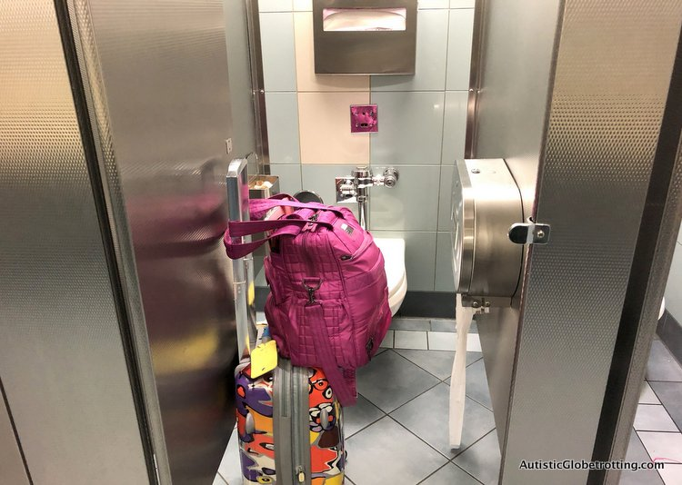 Top Eight Reasons to Avoid Flying Through LAX no space in restrooms