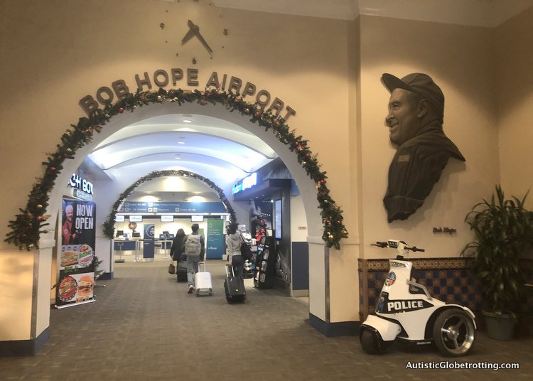Alaska Airlines Exceeds Expectations Despite a 2 Hour Delay bob hope sign