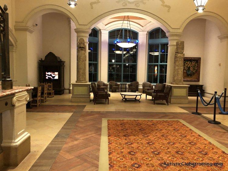 Disney Coronado Springs Resort Tips for Families entrance arches