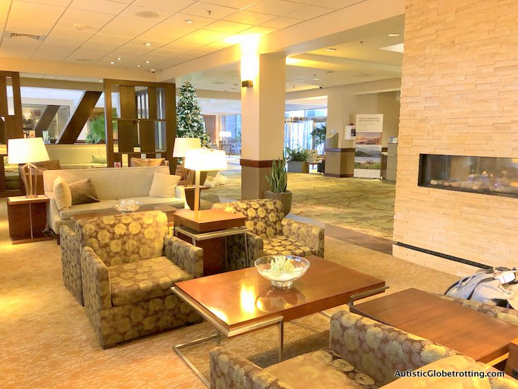 Our Family Friendly stay at the Westin San Francisco Airport Hotel couches