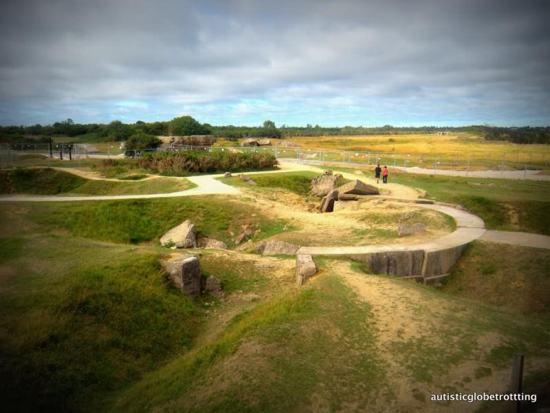 Tips to Visiting D-Day Normandy Beaches with Kids bunkers
