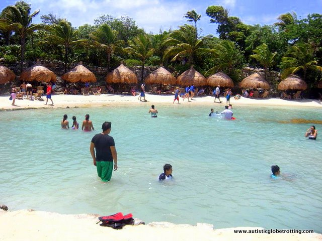 Riviera Maya's Best Aquatic Adventure Parks for Kids With Autism huts