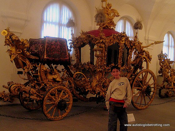 Taking the Family through Munich Germany carriage