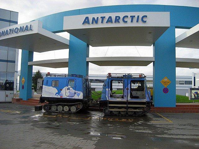 International Antarctic Centre outside