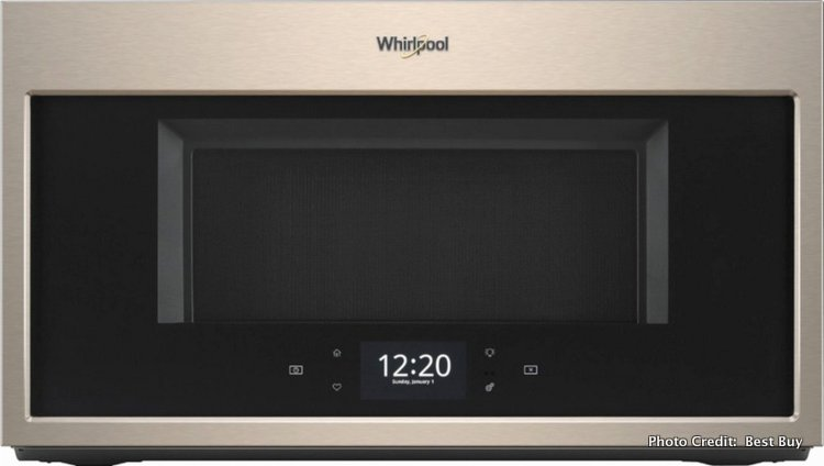 Quick Family Dinners with the Whirlpool Convection Over-the-Range Microwave @BestBuy sunset color