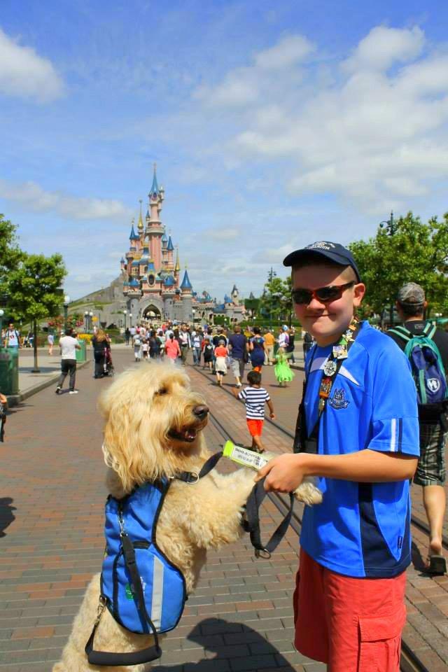 Q&A with Clive -Ireland's Autism Service Dog Extraordinaire castle