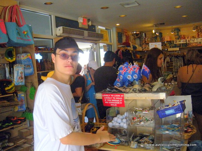 Helping Kids with Autism Start a Souvenir Collection store
