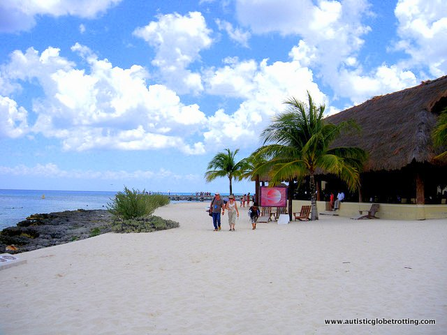 Riviera Maya's Best Aquatic Adventure Parks for Kids With Autism beach