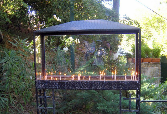 Taking Kids with Autism to Visit Ephesus candles