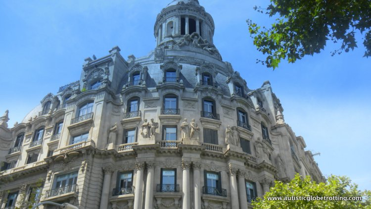 Staying with Kids at the Le Meridien Barcelona building