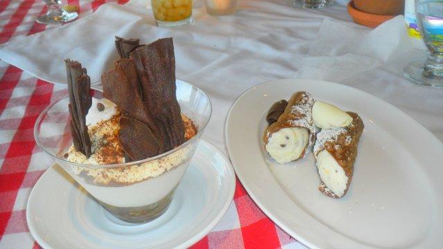 Family Cruise aboard the Carnival Magic desserts