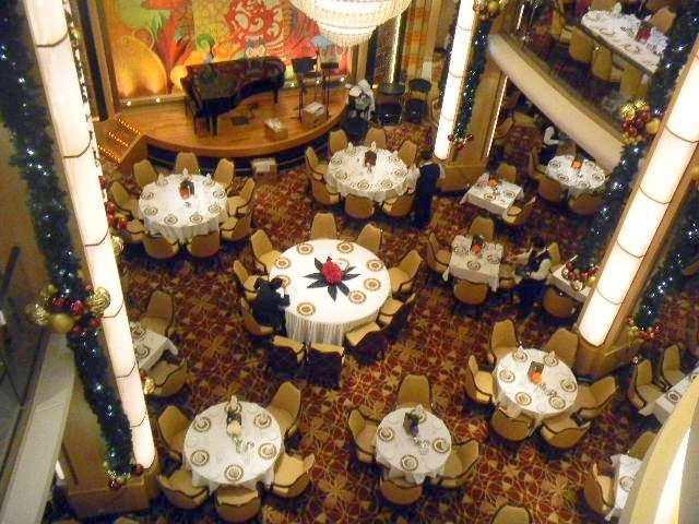 Family Cruise aboard Allure of the Seas dining