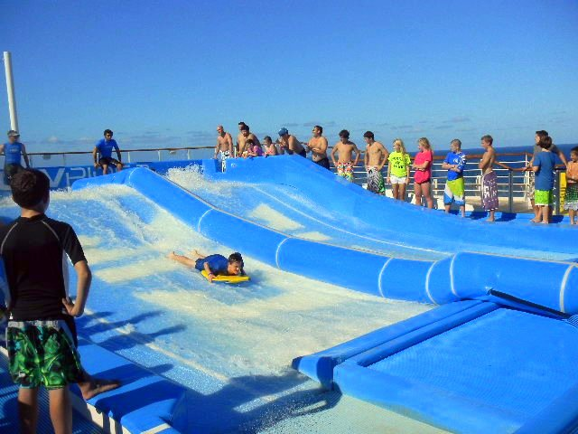 Eight Cruise Line Accommodations to Request When Traveling with Autism flowrider