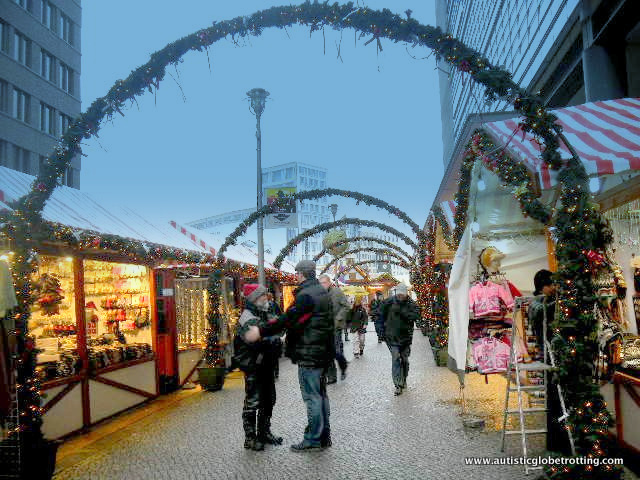Family Friendly Activities in Berlin Germany arch