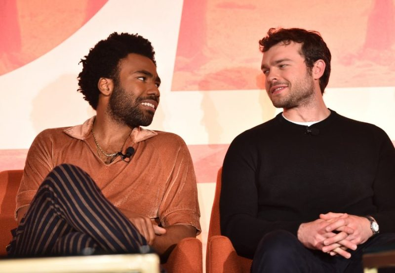 Solo Press Junket:The Resurrection of a Popular Hero landon and hans
