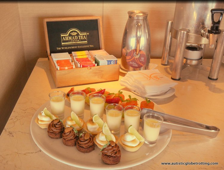 Family Stay at the Buenos Aires Sheraton cakes