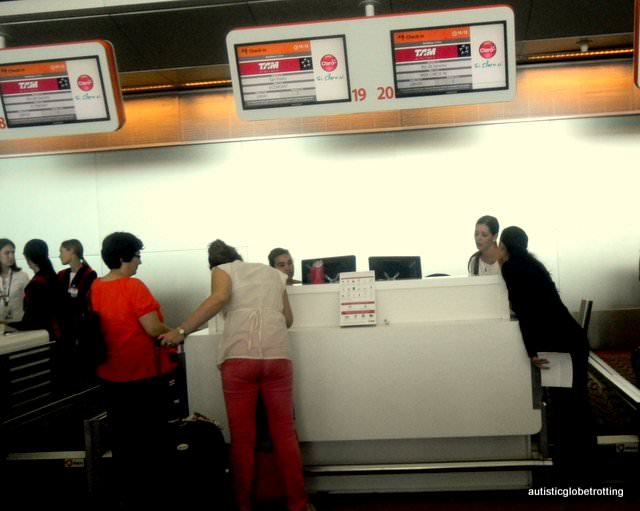Why Fly with TAM Airlines gate