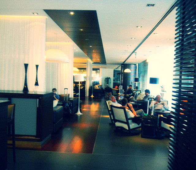 Why Fly with TAM Airlines lounge
