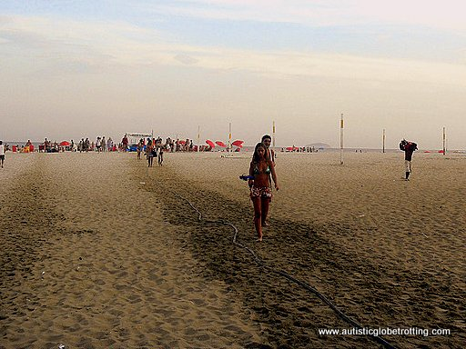 Taking Your Kids with Autism to Rio de Janeiro beach