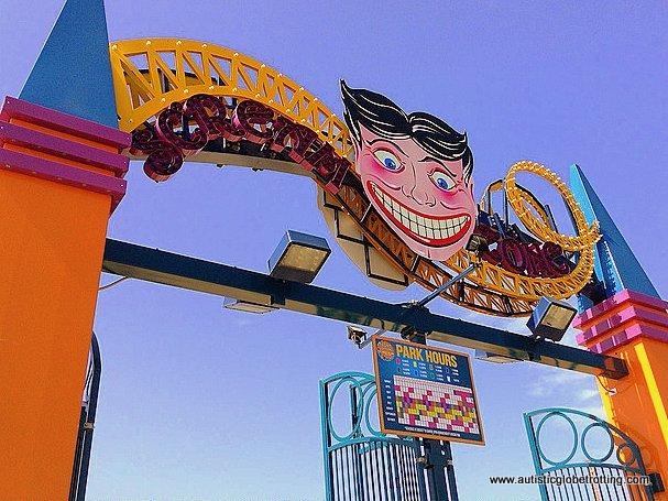 Family Fun on New York's Coney Island face
