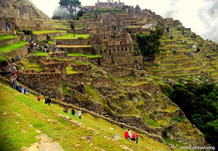 Exploring Peru's Machu Picchu with Family hiike