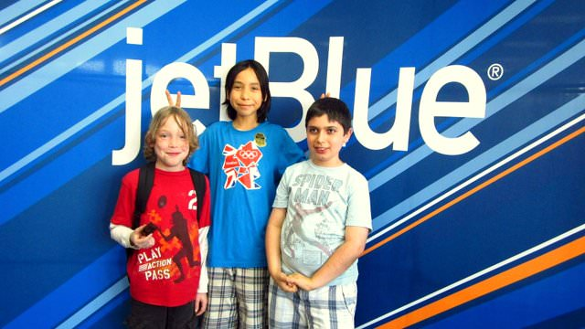 On the benefits of attending JetBlue's 'Wings for Autism' boys