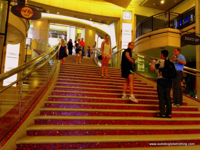 Tips to Booking Guided Tours for Families with Autism stairs