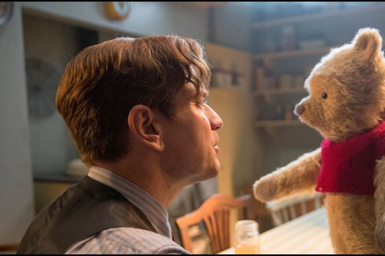 Disney's Christopher Robin the value of family and friendship facing the bear
