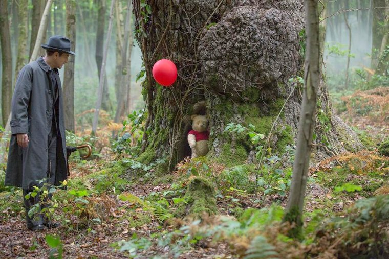 Disney's Christopher Robin the value of family and friendship red balloon