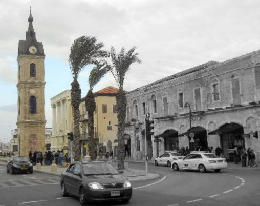 Old Jaffa 2.0 :Reliving childhood memories with the kids tower