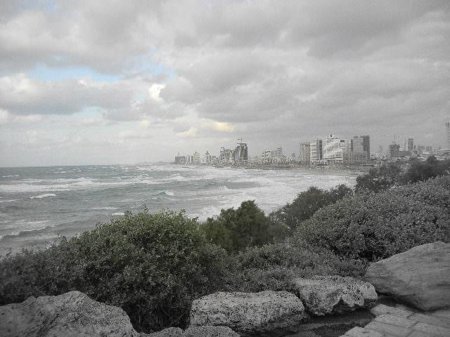 Reliving Childhood Memories in Jaffa,Israel coastlne