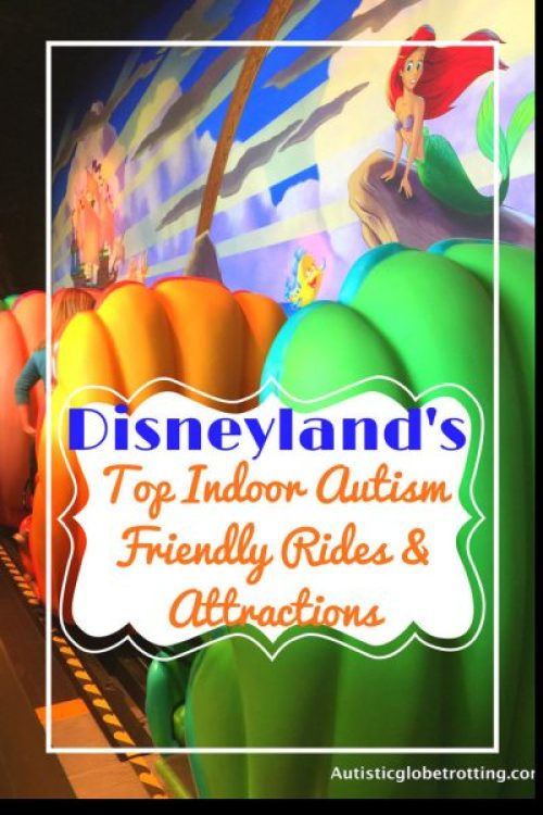 Disneyland's Top Indoor Autism Friendly Rides and Attractions mermaid seats