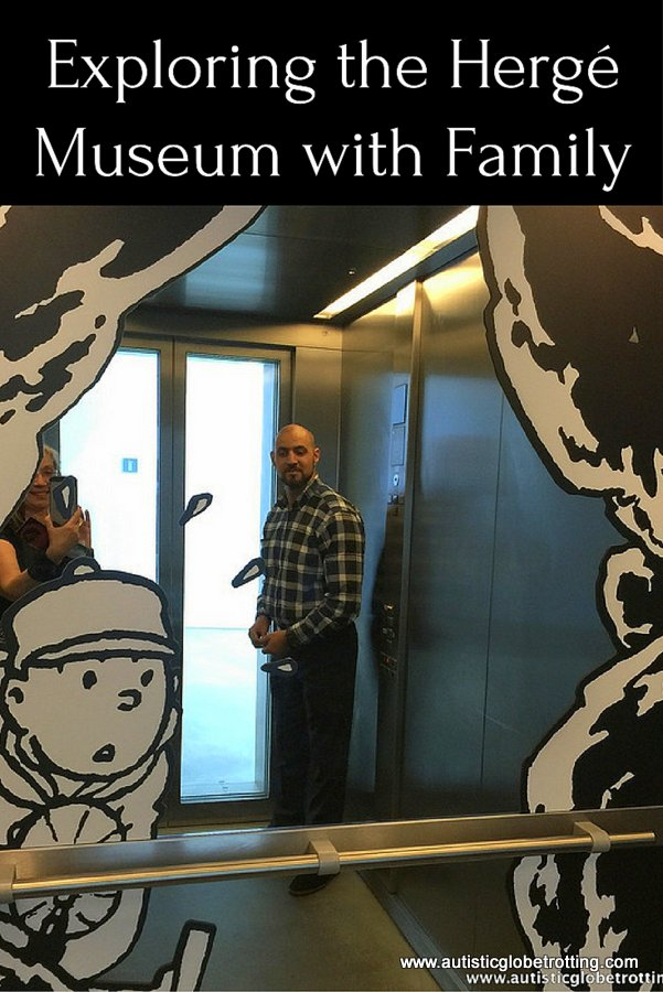Exploring the Hergé Museum with Family pin