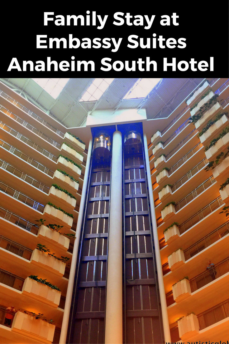 pin embassy suites anaheim south