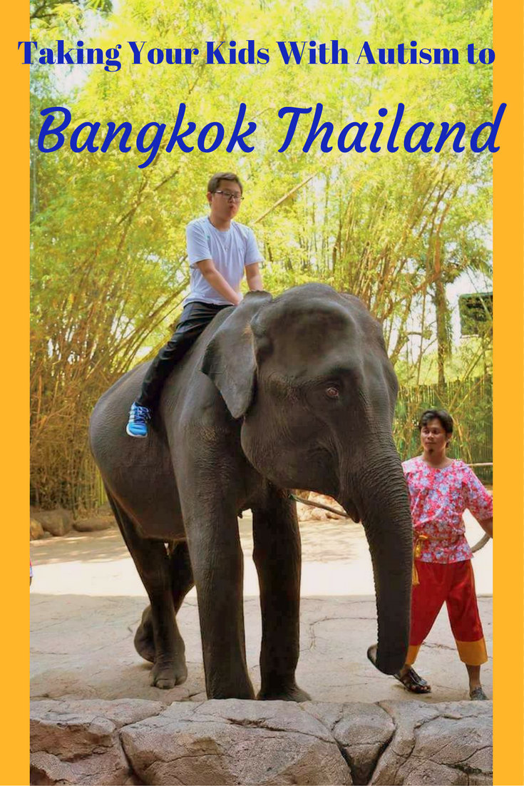 Taking Your Kids With Autism to Bangkok Thailand pin