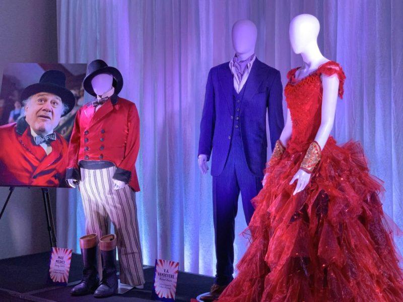 Top Takeaways from Disney's #DUMBO Press Junket red dress