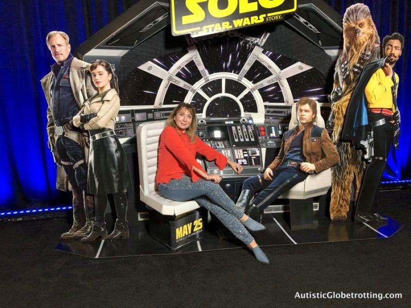 Solo Press Junket:The Resurrection of a Popular Hero me and the cast