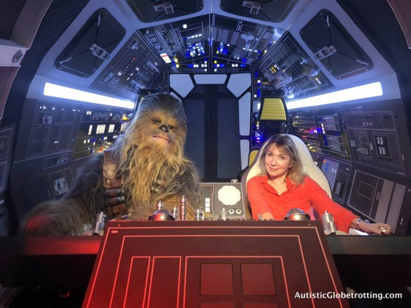 solo press junket me and chewie
