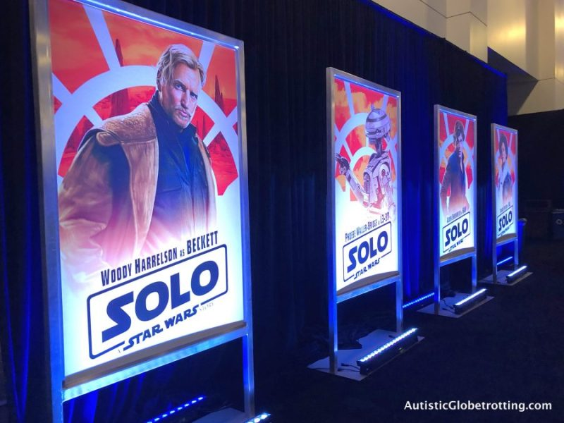 Solo Press Junket:The Resurrection of a Popular Hero different posters