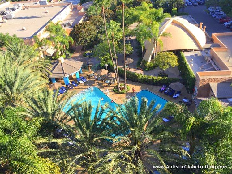 The Autism Friendly Sheraton Park at Anaheim Resort pool