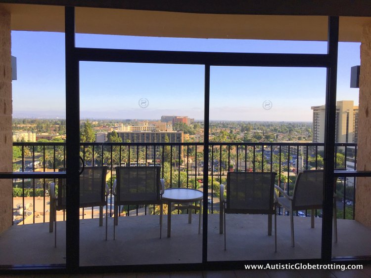 The Autism Friendly Sheraton Park at Anaheim Resort chairs